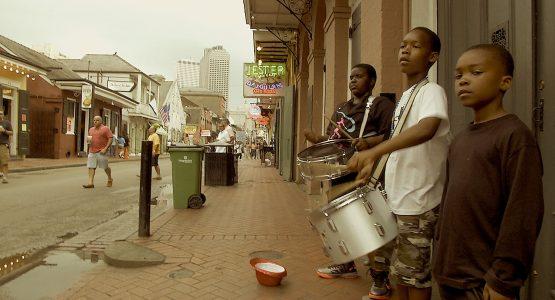 La Nouvelle Orléans, street jazz & Dirty rap